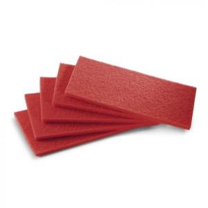 Пад, средне мягкий, красный, 650 mm
