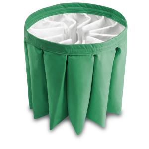 Гофрированный фильтр, зеленый, класс M