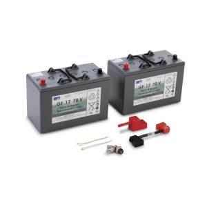Комплект батарей, 24 V, 76 Ah, необслуживаемая