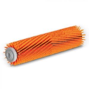 Профилированная цилиндрическая щетка, высокий/низкий, оранжевый, 300 mm