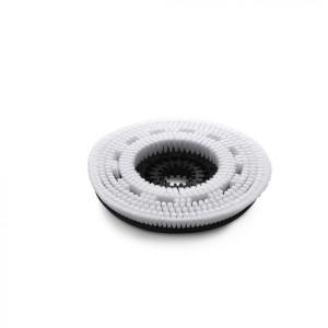 Белая дисковая щетка, очень мягкий, белый, 385 mm
