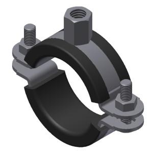 Хомут для трубопроводов систем пылеудаления, Ø 74 – 78 мм