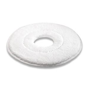 Микроволоконный пад, микроволокно, белый, 280 mm