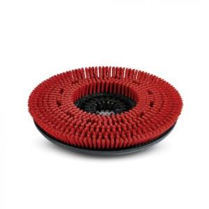 Дисковая щетка, средний, красный, 450 mm