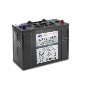 Батарея 105 Ah, 12 V, 105 Ah, необслуживаемая