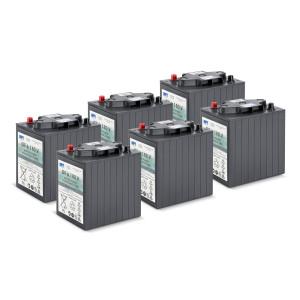 Комплект батарей, 36 V, 180 Ah, необслуживаемая