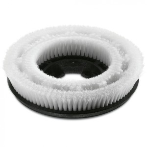 Щетка дискообразная, мягкая, очень мягкий, белый, 385 mm