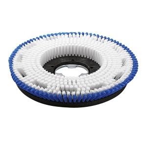 Щетка для шампунирования, средне мягкий, бело-голубой, 430 mm