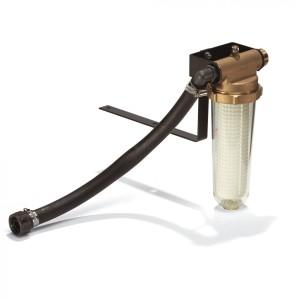 """Фильтр тонкой очистки воды, 90–120 мкм, R 1"""", для работы под напором и в режиме всасывания"""