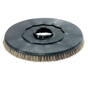 Дисковая щетка, мягкий, натуральный, 200 mm