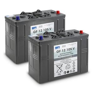 Комплект батарей, 24 V, 105 Ah, необслуживаемая
