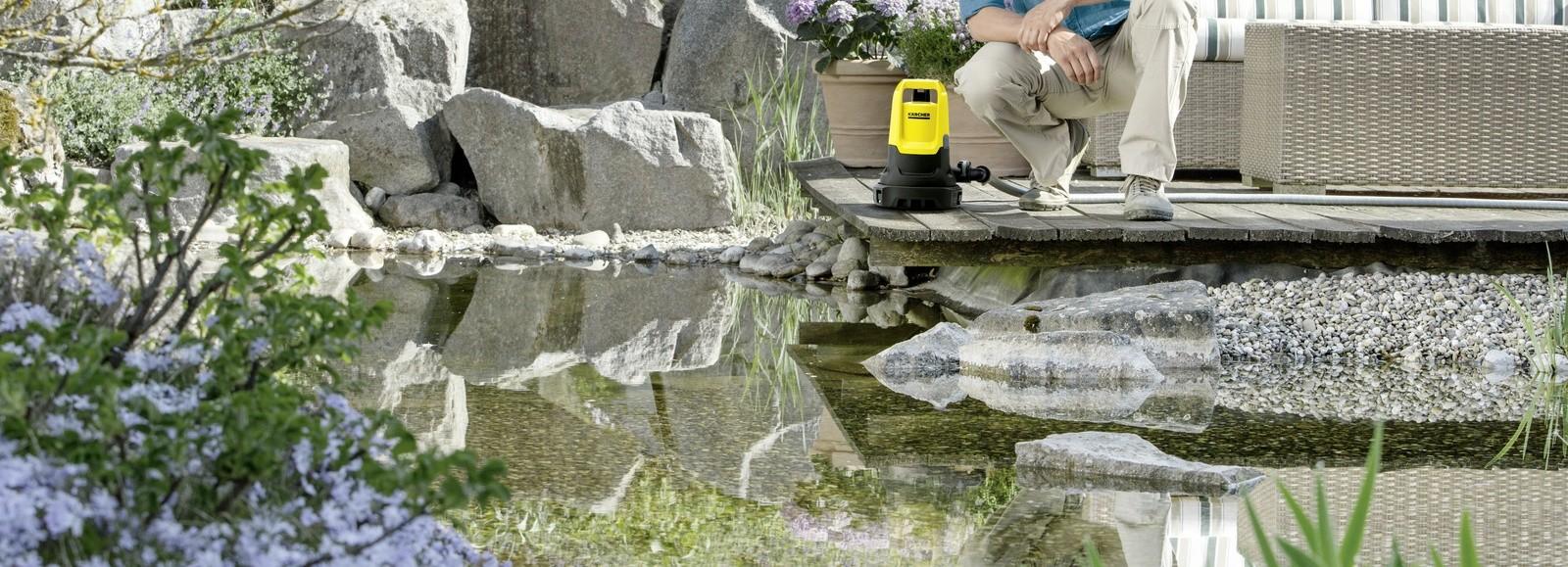 Новый погружной насос SP 5 Dual от Kärcher для перекачки грязной и чистой воды